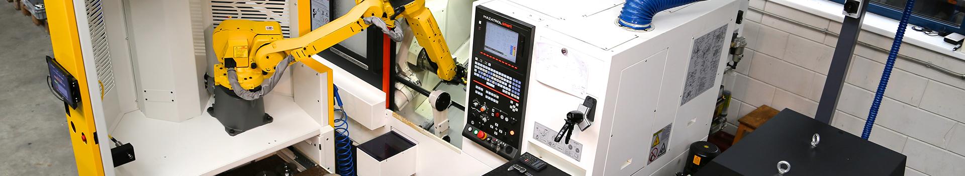 Xcelerate aangesloten op een CNC Machine
