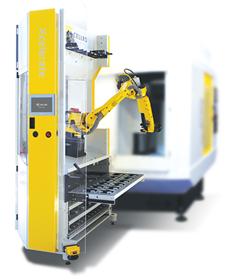 Xcelerate bij een CNC-machine