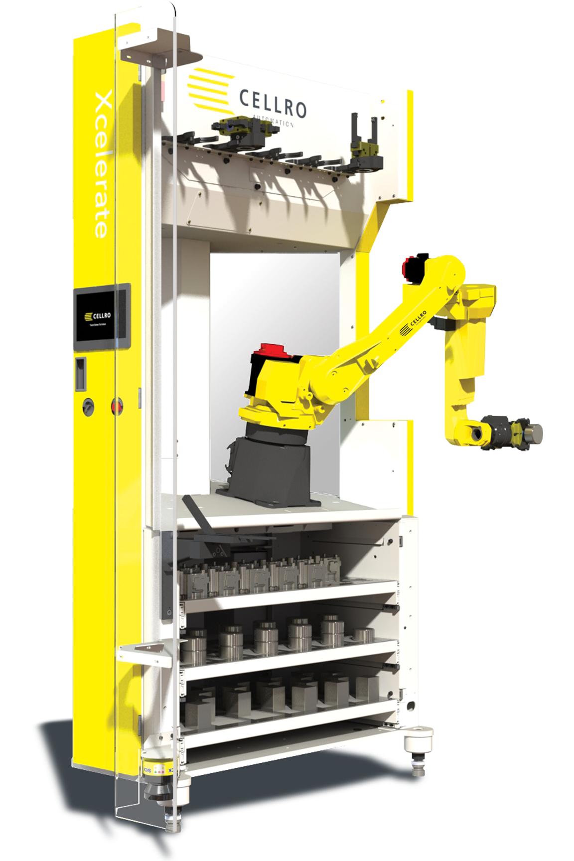 Automatiseringsoplossing Xcelerate Cellro