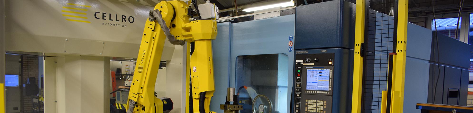 Robotautomatisering Cellro